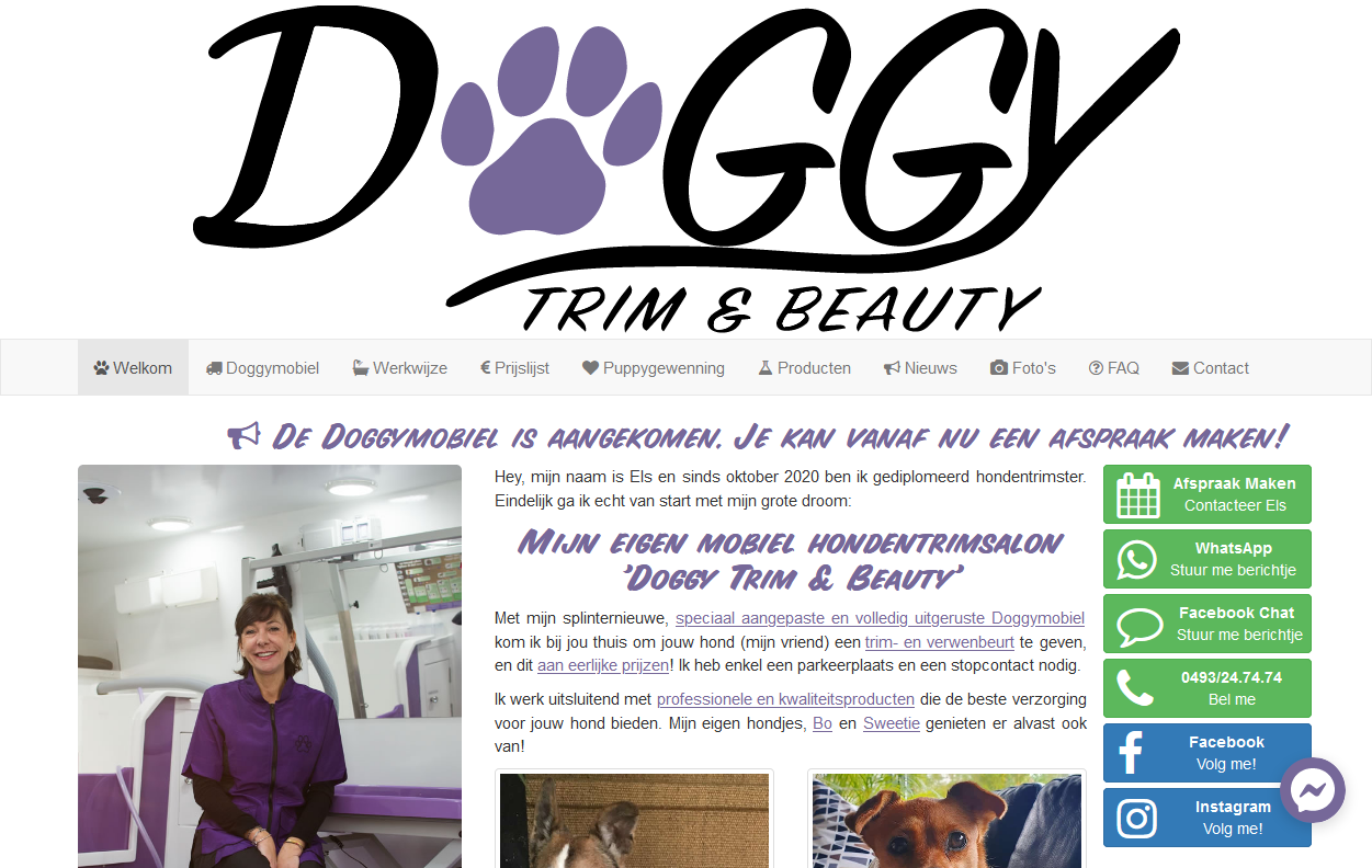 Doggy Trim en Beauty
